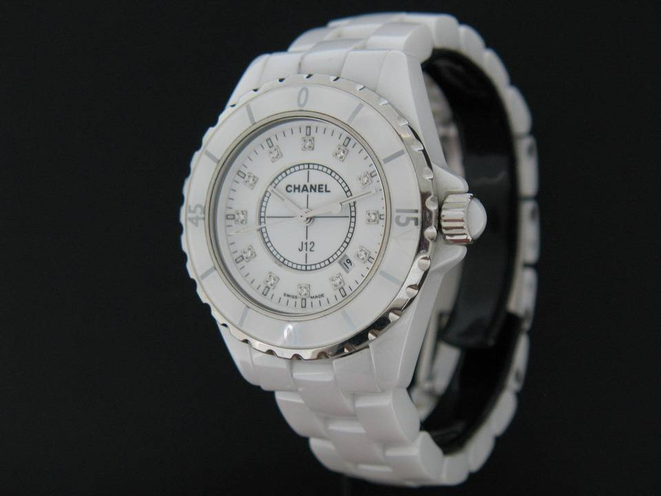 Chanel Chanel J2 Ceramic Diamond H1628