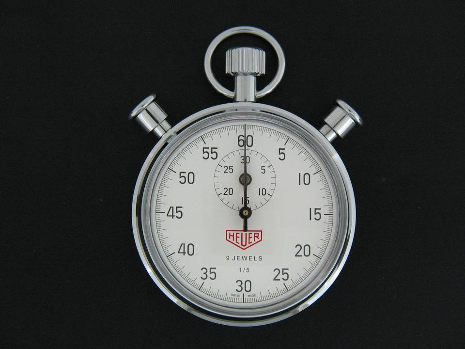 Tag Heuer Tag Heuer 9 Jewels Stopwatch HL810