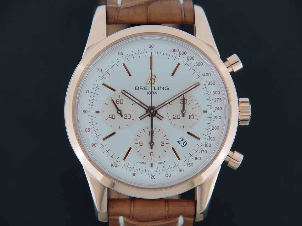 Breitling Breitling Transocean Chronograph Rose Gold
