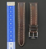 Breitling Breitling Calf Leather strap 20-18 Brown + Breitling clasp