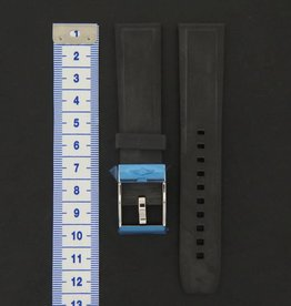 Breitling New Rubber strap 20-18 + Breitling Clasp