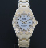 Rolex  Rolex Pearlmaster Yellowgold Diamonds 80318