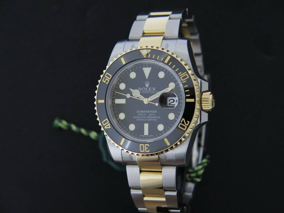 Rolex  Rolex Submariner Date Gold/Steel NEW 116613LN