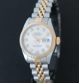 Rolex  Datejust Lady Gold/Steel Diamonds 69173