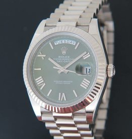 Rolex  Day-Date Whitegold 40  228239