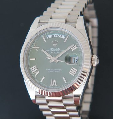 Rolex  Day-Date Whitegold 40  228239