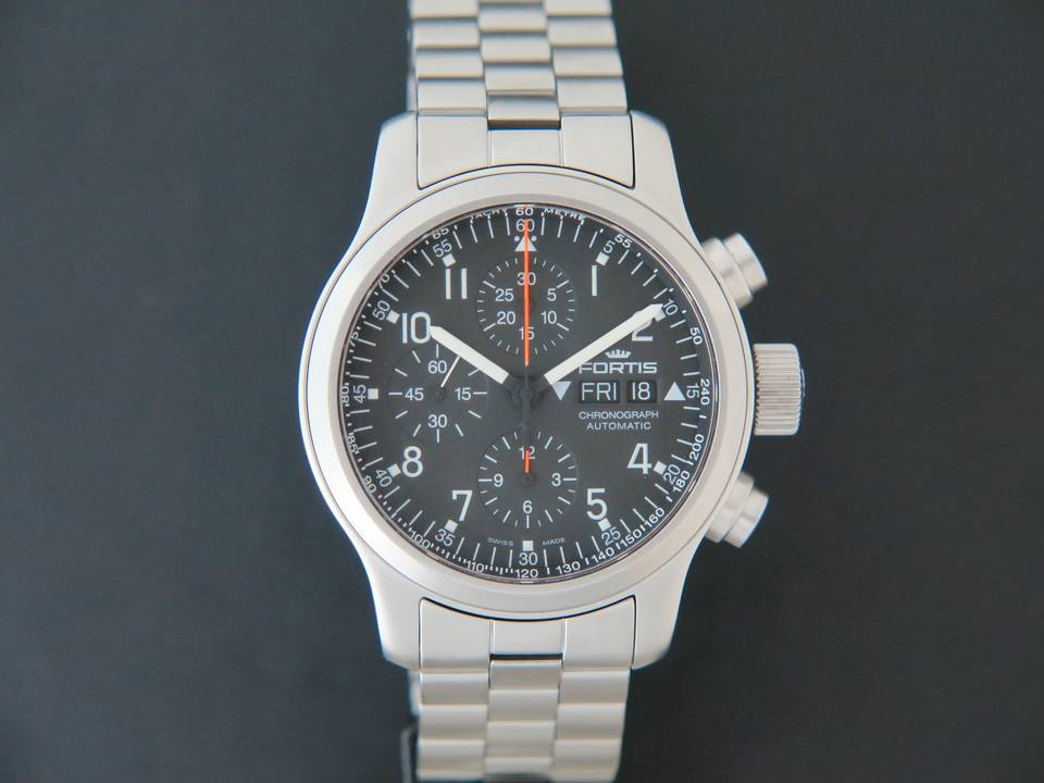 Fortis Fortis B42 Chrono Pilot Automatic Day Date NEW