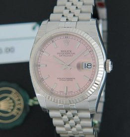 Rolex  Datejust Pink Dial 116234 NEW