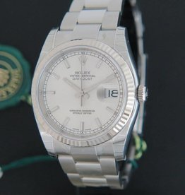 Rolex  Datejust Silver Dial 116234 NEW
