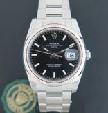 Rolex  Rolex Date Black Dial 115234 NEW