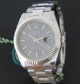 Rolex  Datejust 41 Dark Rhodium NEW 126334