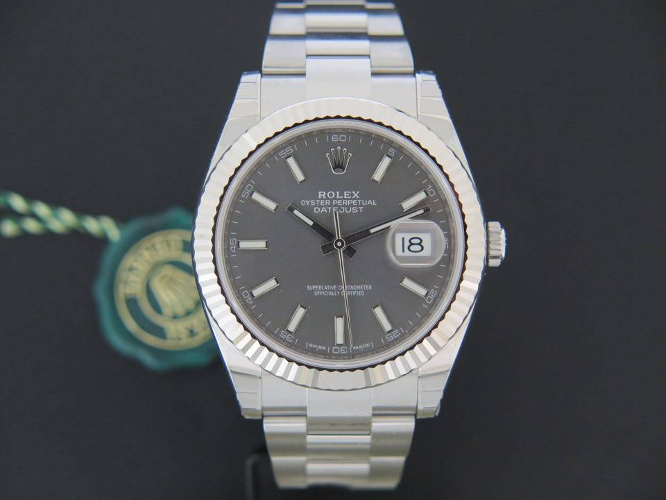 Rolex  Rolex Datejust 41 Dark Rhodium NEW 126334