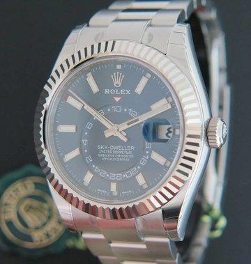Rolex  Sky-Dweller 326934 Blue Dial NEW
