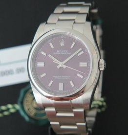 Rolex  Oyster Perpetual Red Grape NEW 116000