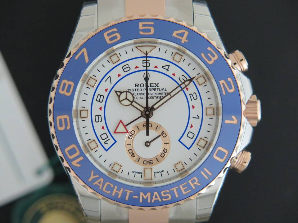 Rolex  Rolex Yacht-Master II Regatta Everosegold/Steel 116681 NEW