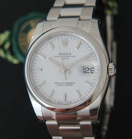 Rolex  Date White Dial NEW 115200