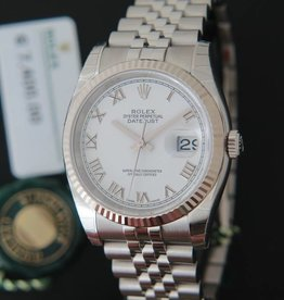 Rolex  Datejust White Dial 116234 NEW