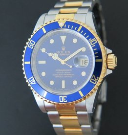 Rolex  Submariner Date Gold/Steel Blue Dial