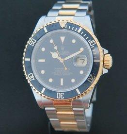 Rolex  Submariner Date Gold/Steel 16613