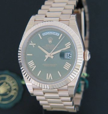 Rolex  Day-Date Everose 228235 NEW
