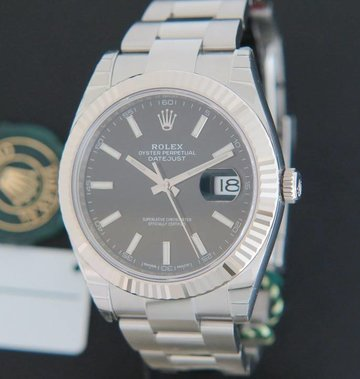 Rolex  Datejust 41 Black Dial 126334 NEW