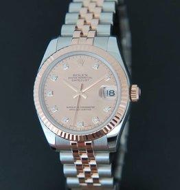 Rolex  Datejust Everosegold/Steel MOP Diamond Dial 178271
