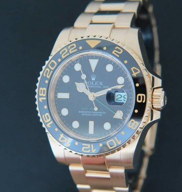 Rolex  GMT-Master II Yellow Gold 116718LN
