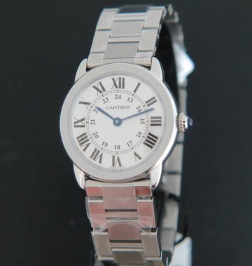 Cartier Ronde Solo 29mm NEW W6701004