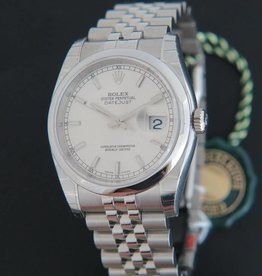 Rolex  Datejust NEW 116200  Silver Dial