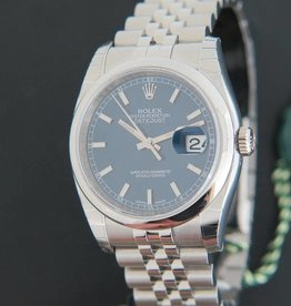 Rolex  Datejust NEW 116200 Blue Dial