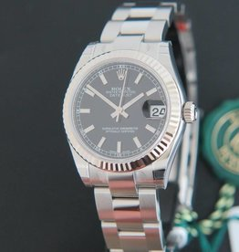 Rolex  Datejust Black Dial 178274 NEW