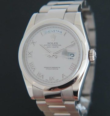 Rolex  Day-Date White Gold 118209