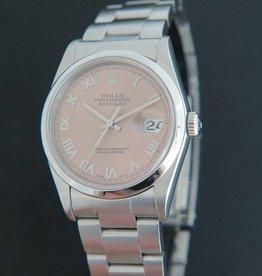Rolex  Datejust 16200 Pink Roman Dial