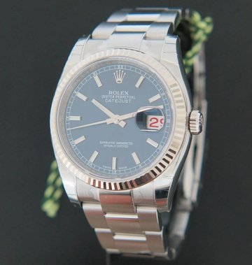 Rolex  Datejust Blue Dial NEW 116234
