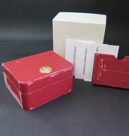 Omega Box with Cardholder and booklets