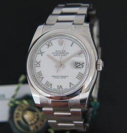 Rolex  Datejust NEW 116200  White Roman