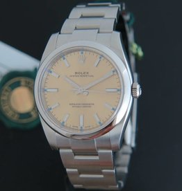Rolex  Oyster Perpetual Champagne-Colour Dial NEW 114200