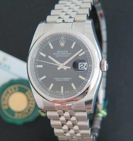 Rolex  Datejust NEW 116200 Black Dial