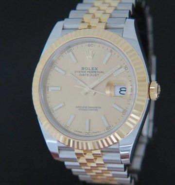 Rolex  Datejust 41 Gold/Steel 126333