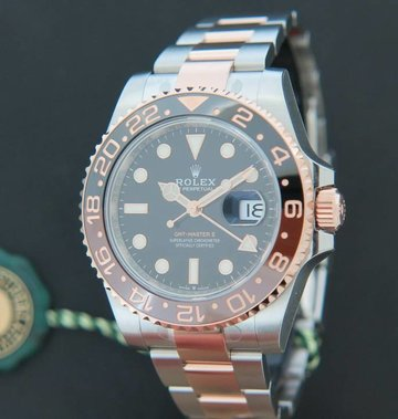 Rolex  GMT-Master II EVEROSEGOLD / STEEL NEW 126711CHNR