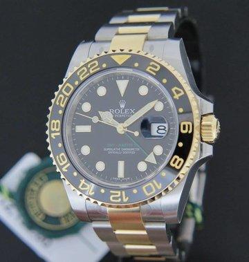 Rolex  GMT Master II Gold/Steel NEW