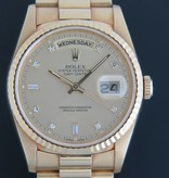 Rolex  Rolex Day-Date Yellow Gold 18238