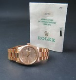 Rolex  Rolex Day-Date Yellow Gold 18238