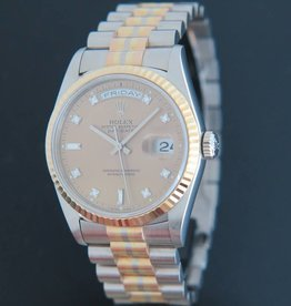Rolex  Day-Date Tridor Diamonds Dial 18239