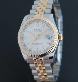 Rolex  Datejust Gold/Steel Silver 178273
