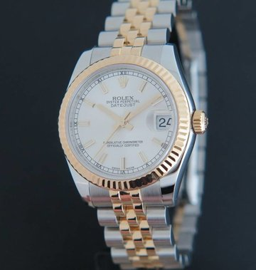 Rolex  Datejust Gold/Steel Silver 178273