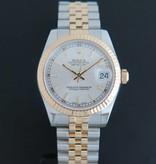 Rolex  Rolex Datejust Gold/Steel Silver 178273