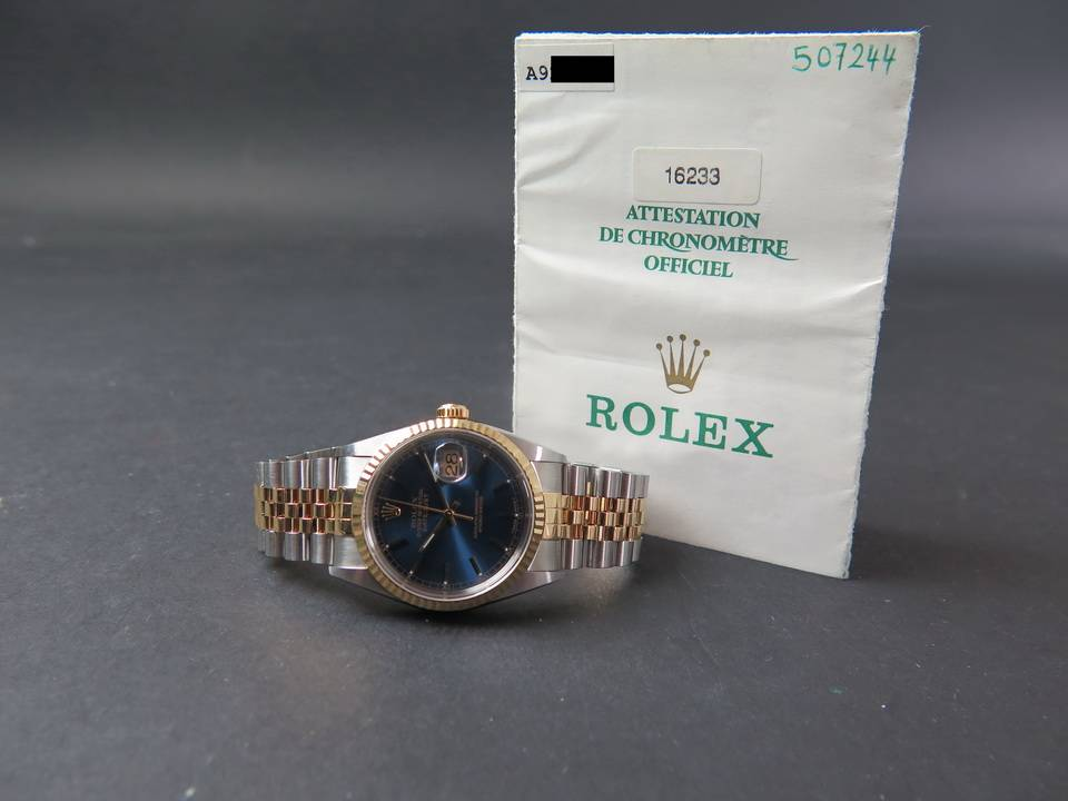 Rolex  Rolex Oyster Perpetual Datejust Gold/Steel 16233