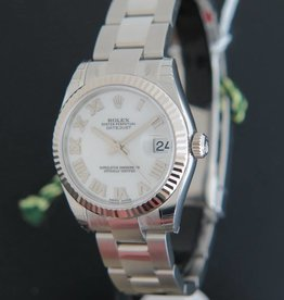 Rolex  Datejust NEW 178274  White Dial