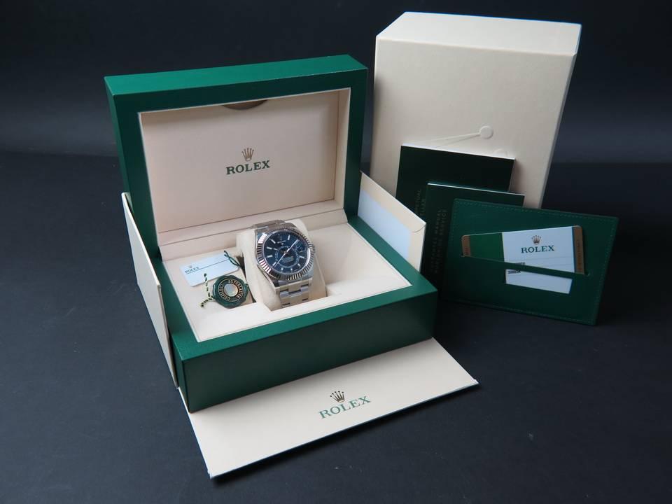 Rolex  Rolex Sky-Dweller 326934 Blue Dial NEW